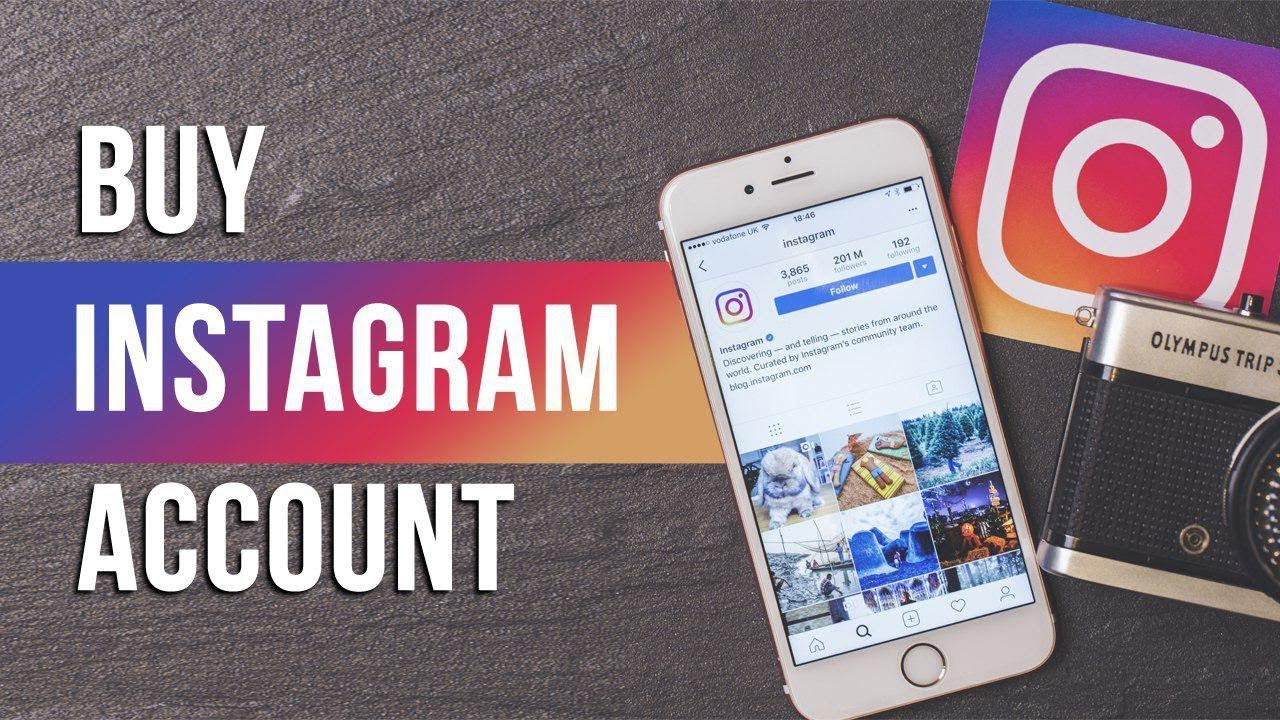 Best place to Buy instagram accounts