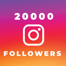 Buy 20000 Instagram followers